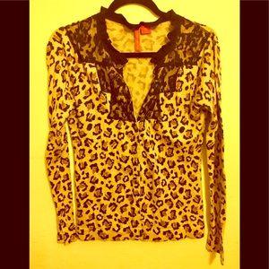 Charlotte Tarantola Leopard Sweater Medium